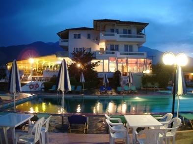 хотел Мегас Александрос в Лептокария,Гърция